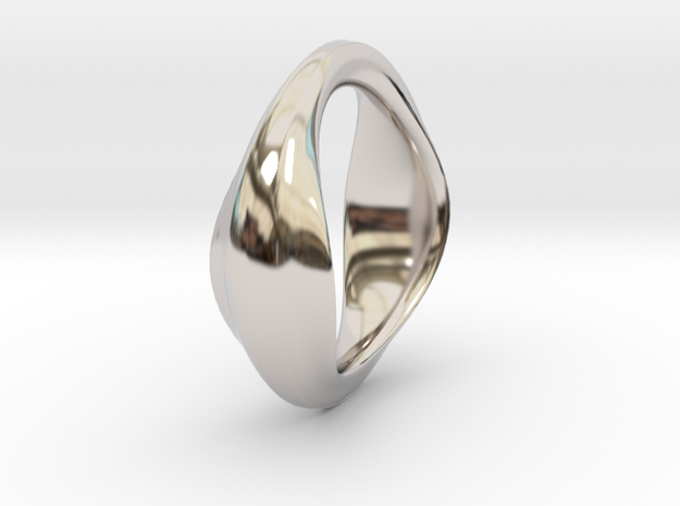 The Very Beginning in Rhodium Plated Brass: Small