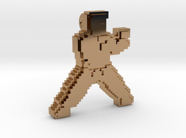 Karateka pendant