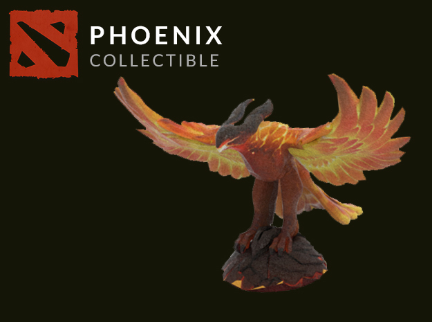 Phoenix in Full Color Sandstone