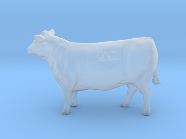 1/64 Yearling Heifer 07 in Smooth Fine Detail Plastic