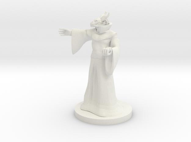 Dragonborn Sorceror 4 in White Strong & Flexible