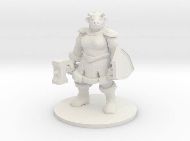 Female Minotaur Warrior