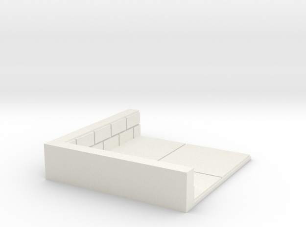 2x2_corner in White Natural Versatile Plastic