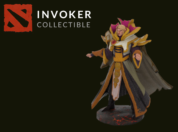 INVOKER in Full Color Sandstone