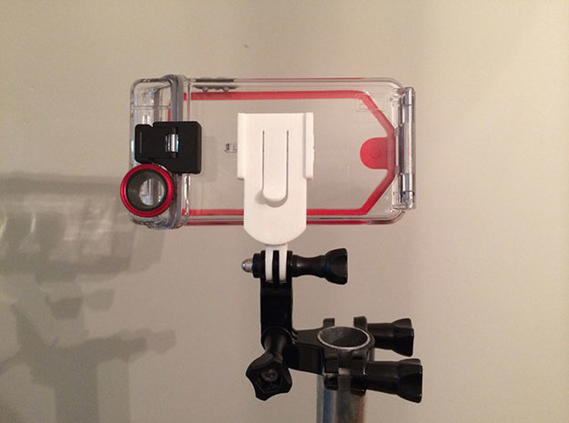 Optrix XD5 to GoPro Adapter in White Strong & Flexible