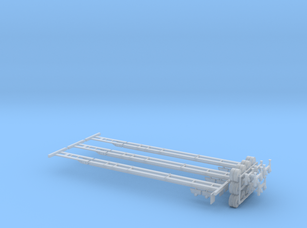 N Intermodal Chassis 3 Pack - Variable Length