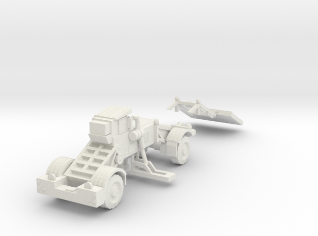 1:87 Husky Route Clearance Vehicle in White Strong & Flexible