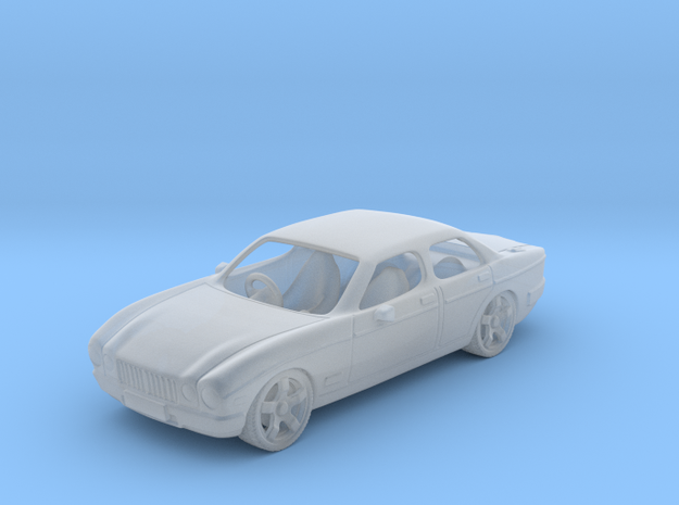 JaguarXJ6  1:120 TT in Smooth Fine Detail Plastic