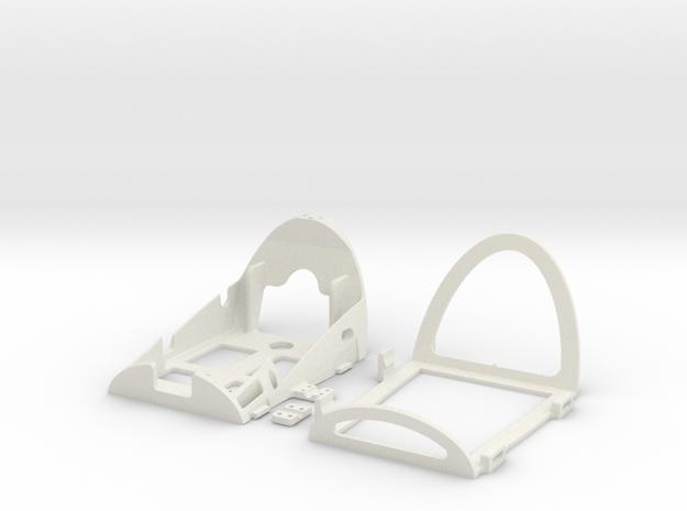 Bixler UAV_main frame in White Strong & Flexible