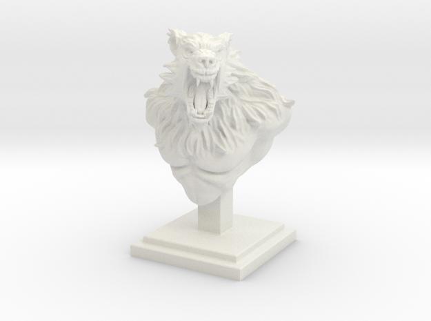 """4"""" Tall Werewolf Creature Bust"""
