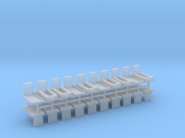 Gräber Set5 20erSet - 1:120 TT in Smooth Fine Detail Plastic