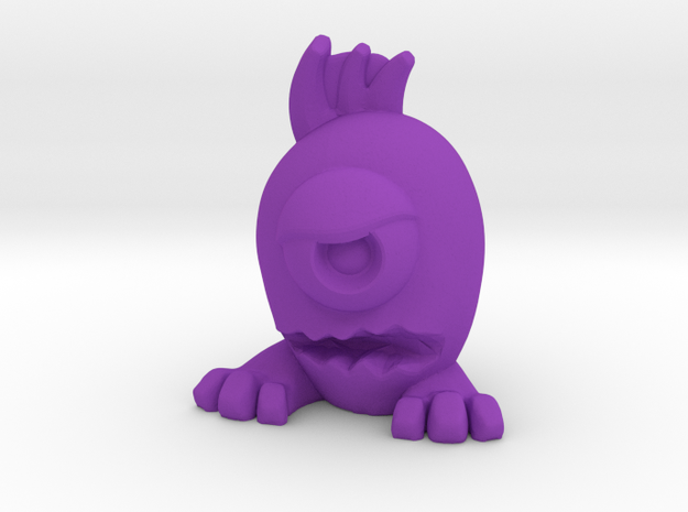 Eggpo, Old Timer (PS002) in Purple Strong & Flexible Polished