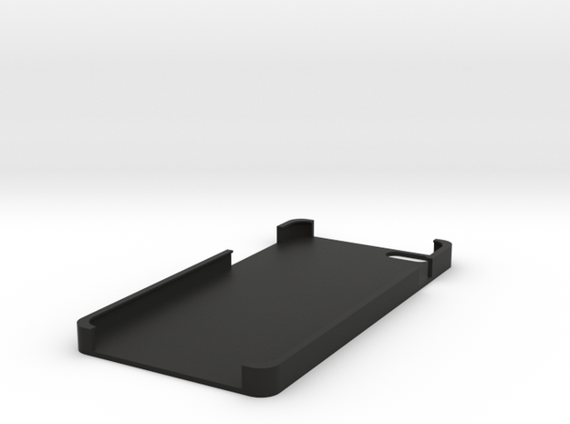 Iphone 6 plus customizable case in Black Natural Versatile Plastic