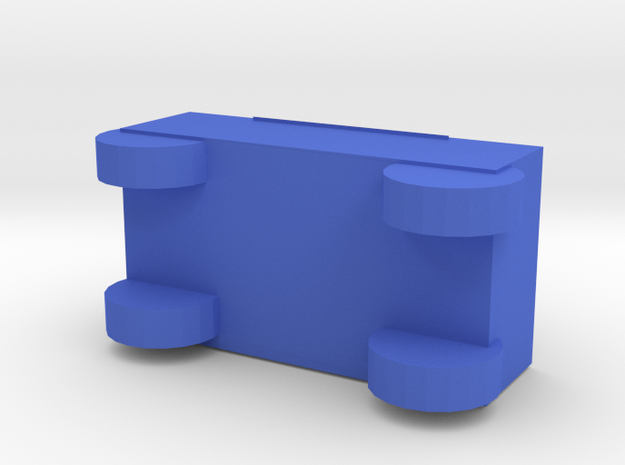 Car in Blue Processed Versatile Plastic