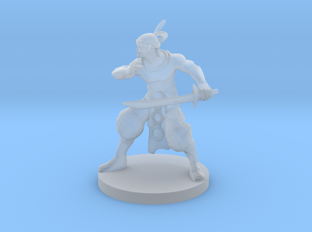 Elven Pirate in Smooth Fine Detail Plastic