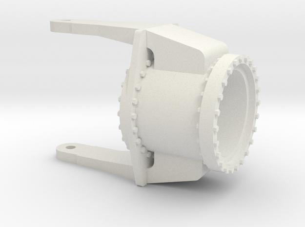 Hinge-2 1:50 in White Natural Versatile Plastic