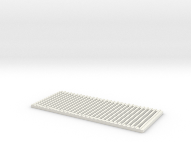 Vertical Grill RC4WD D90/D110 in White Strong & Flexible