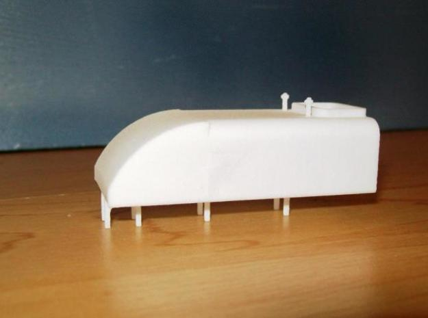 Beyer Peacock 15th Class Beyer Garratt Front Tank 3d printed Description