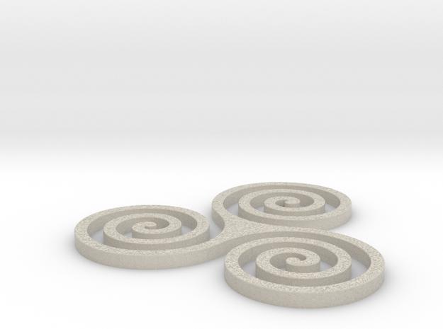 Coaster #2 - Celtic in Natural Sandstone