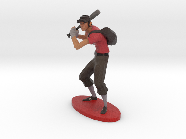 TF2 Scout RED Miniature