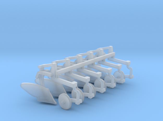1/64 Plow Bottoms X 6 in Smooth Fine Detail Plastic
