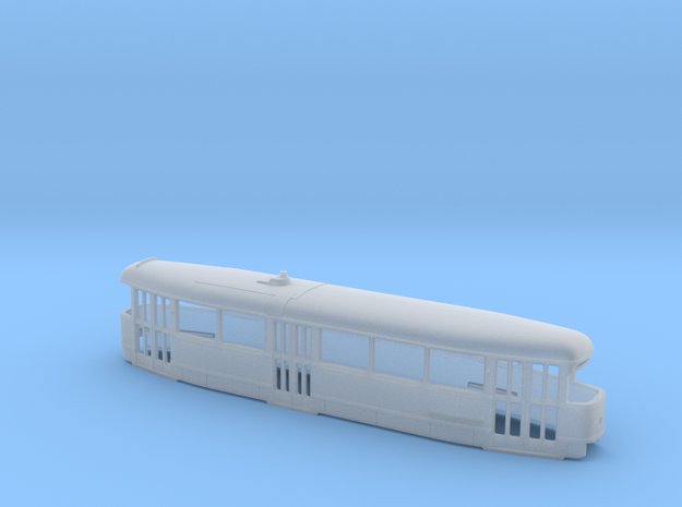 Tatra T1 Trolley N [body] in Smooth Fine Detail Plastic