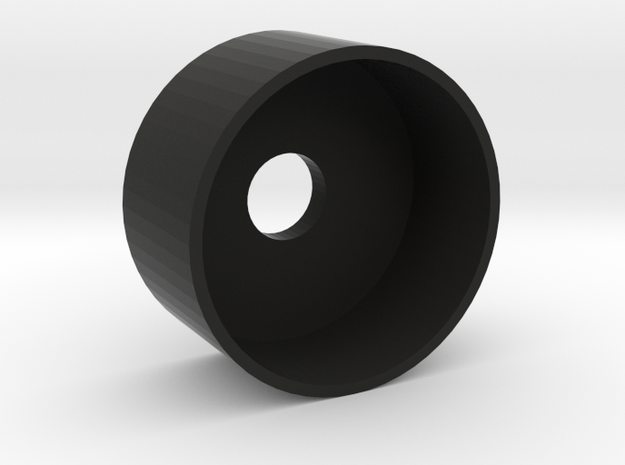 20 mm Base Speaker Holder in Black Natural Versatile Plastic