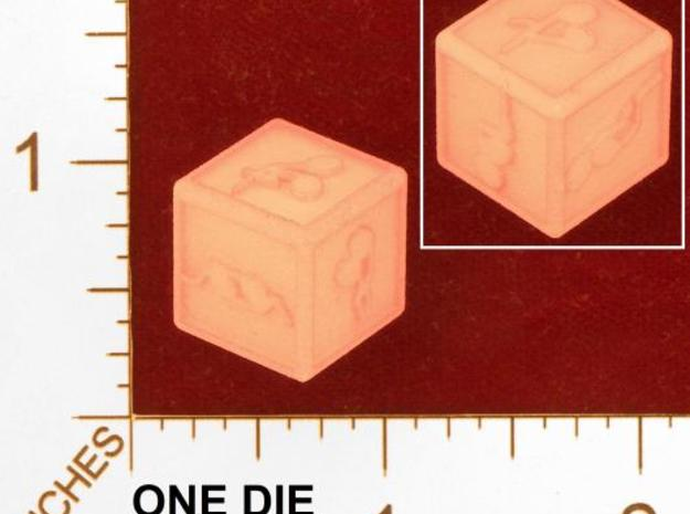 med dice 3d printed pic, thanks kevin