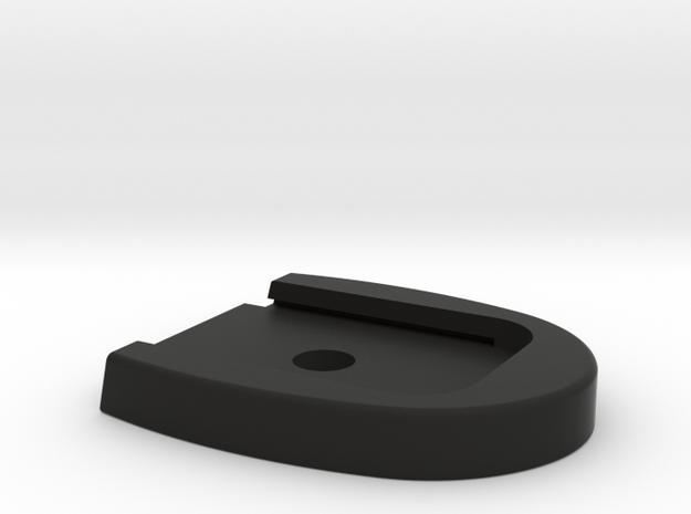 Sig Sauer P320 Base Plate - No Tabs in Black Natural Versatile Plastic