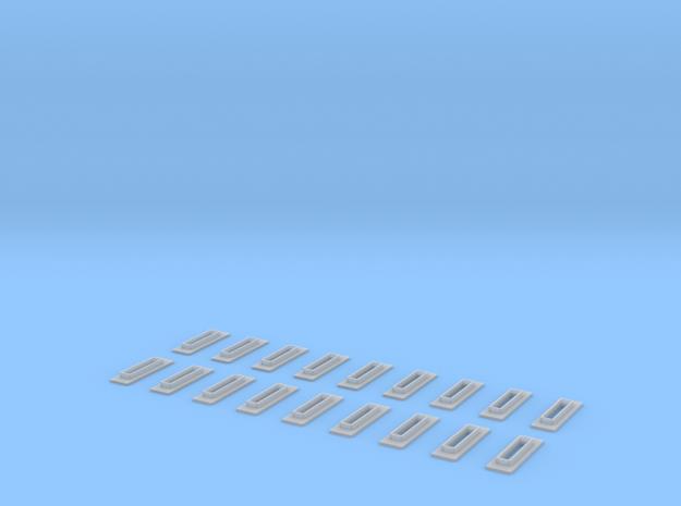 Railjettüren Scale TT in Smooth Fine Detail Plastic