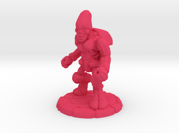Pillthug, Brawler in Pink Strong & Flexible Polished: Small