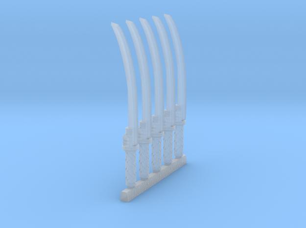 techno-katana 1 mk2 in Smooth Fine Detail Plastic