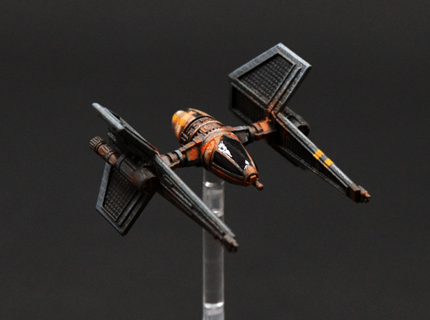 Ugly Aggressive Bee 1/270 in Smoothest Fine Detail Plastic