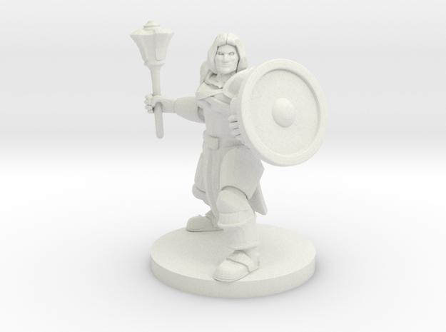 Waterfolk Cleric in White Natural Versatile Plastic