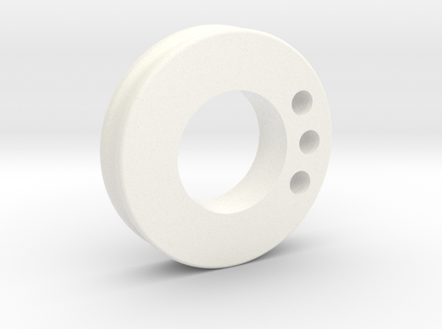 thumb_pulley_pm in White Processed Versatile Plastic