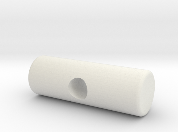 pulley_pin_medial_mp in White Natural Versatile Plastic