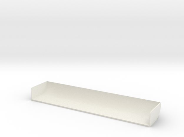 1/10 Touring Car Spoiler  in White Natural Versatile Plastic