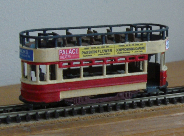 3mm scale Thanet Tram in Smooth Fine Detail Plastic