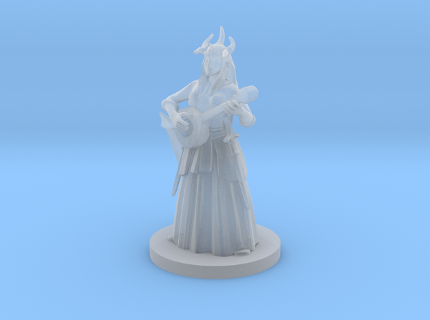 Tiefling Female Bard 2 in Smooth Fine Detail Plastic