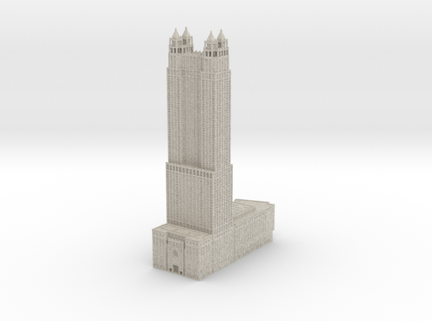 900 North Michigan (1:1200 scale) in Sandstone