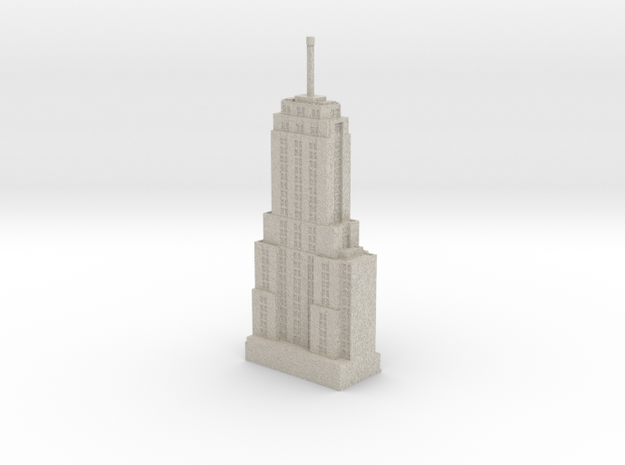 Palmolive Building (1:1200 scale) in Sandstone