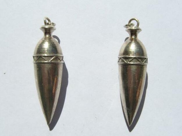 Amphora Earring 3d printed