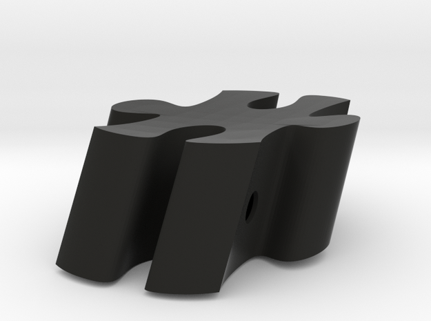 E6 - Makerchair in Black Natural Versatile Plastic