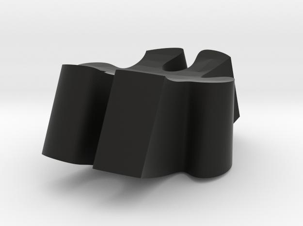 E4 - Makerchair in Black Natural Versatile Plastic