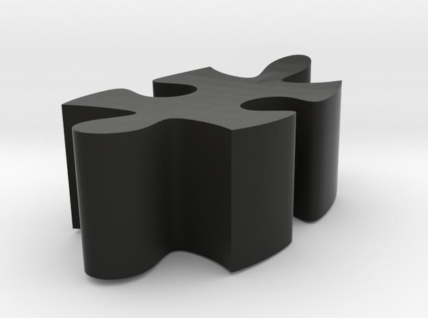 E3 - Makerchair in Black Natural Versatile Plastic