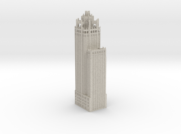 Tribune Tower (1:600 Scale)