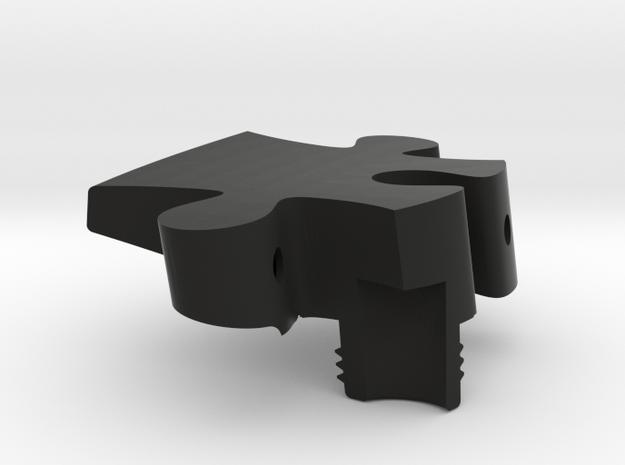 A1 - Makerchair in Black Natural Versatile Plastic
