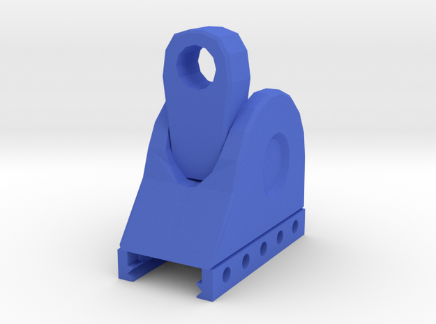 TF2 Cleaner's Carbine Rear Iron Sight in Blue Processed Versatile Plastic