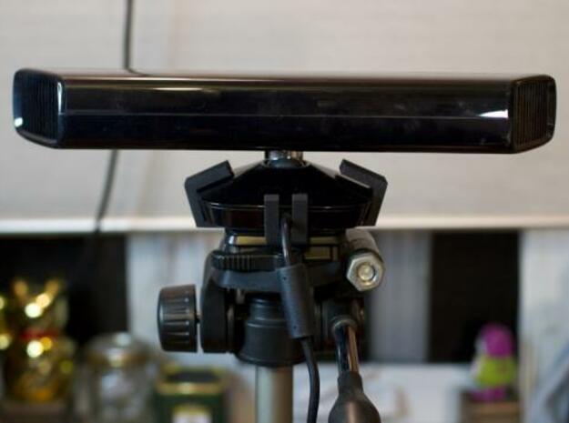 Kinect Tripod Mount 3d printed rear view