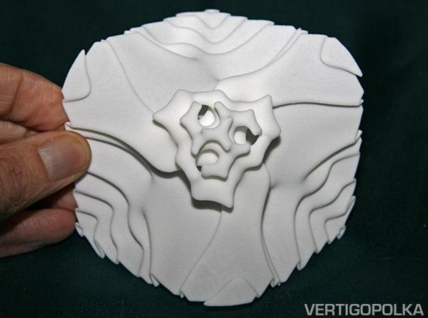 Implicit Surface A 3d printed Implicit Surface A top view